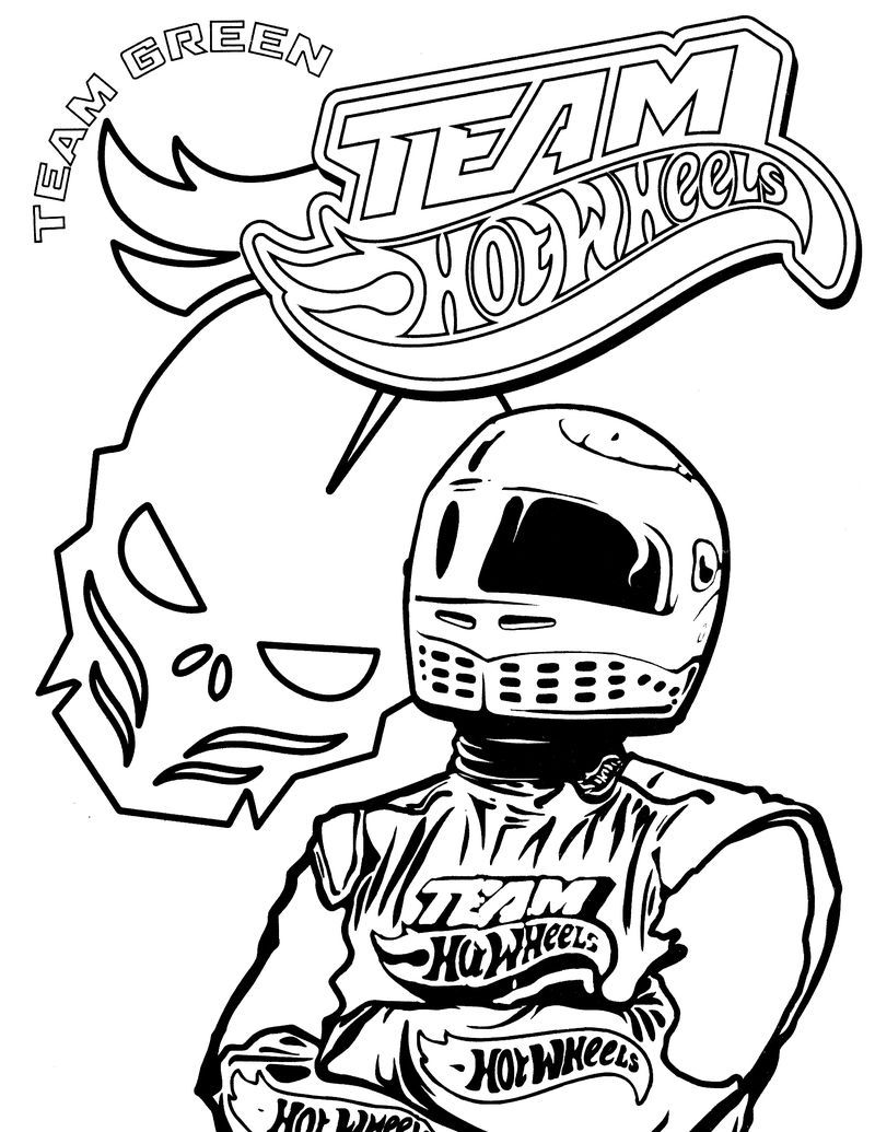 Hot Wheels Coloring Pages To Make Your Kids Day Colorful Com