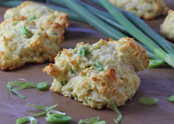 Pepper Jack, Scallion and Cilantro biscuits... A new biscuit recipe to try!
