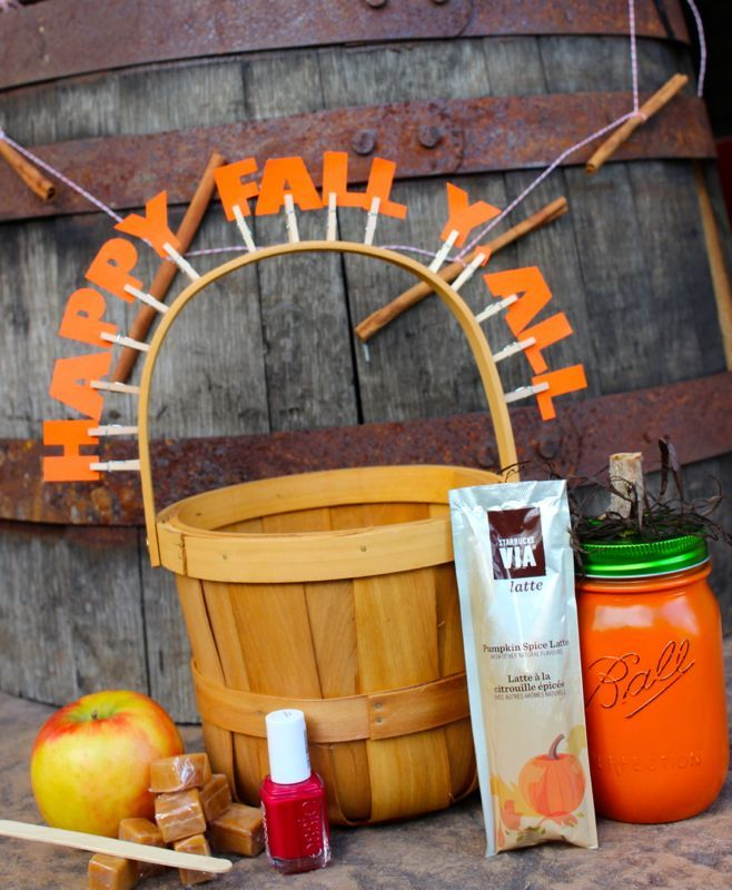 Bridal Shower Gift Basket Climbing On House Halloween: Happy Fall Y'all :: Gift Basket Idea Created With My
