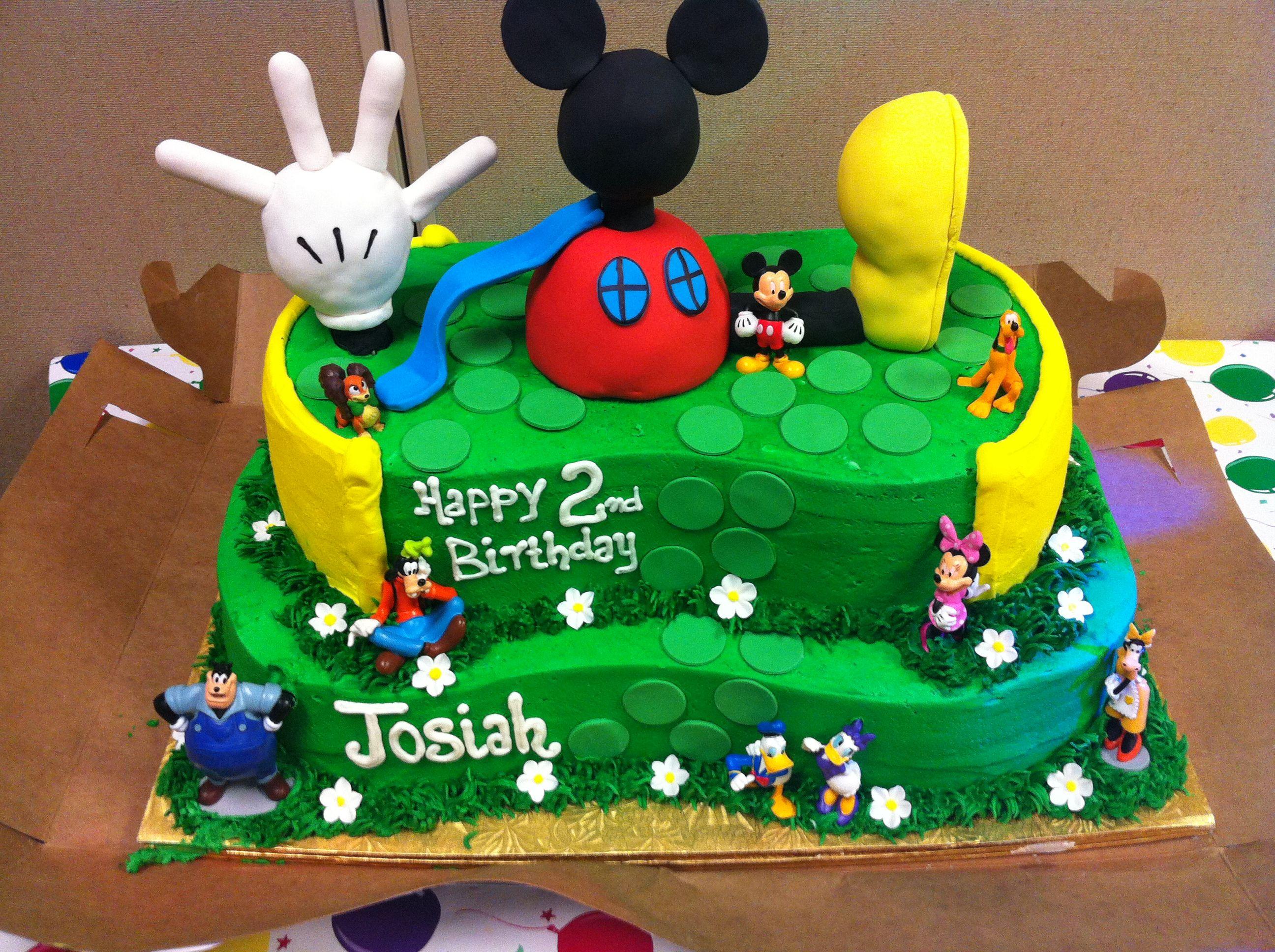 This Huge Mickeymouse Birthday Cake Was Carried Into Saharasams
