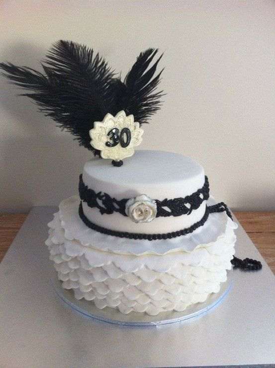 Roaring 20s Cake Theme With Images Themed Cakes My Super
