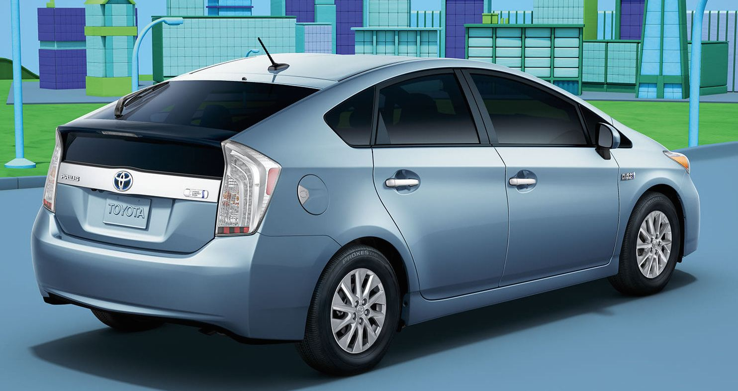 Hip To Be Square 2016 Toyota Prius Gets A Makeover