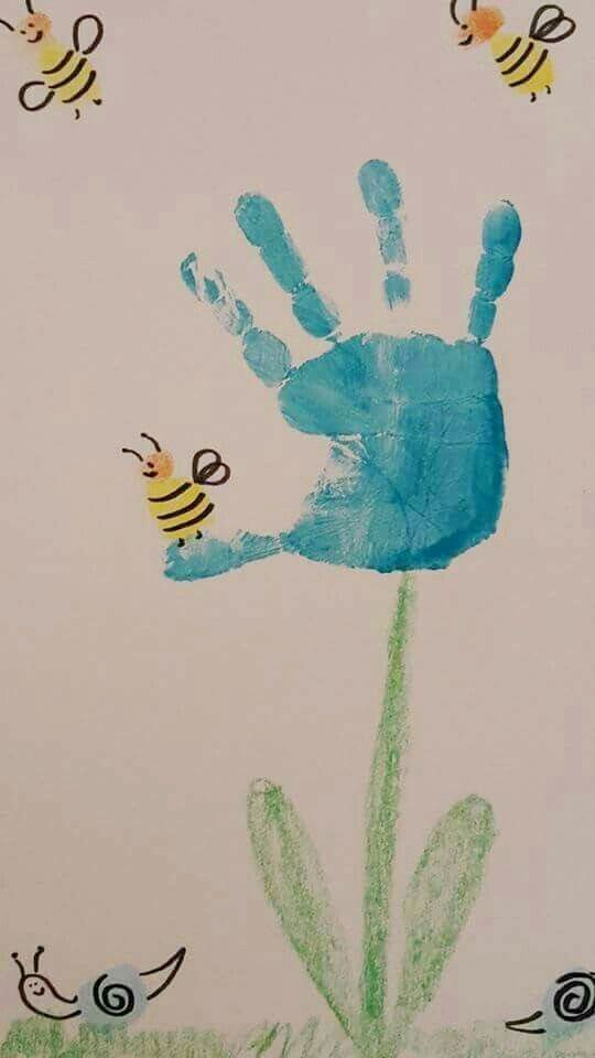 20 Ideas handprint and footprint painting #Ideas #handprint #and #footprint #painting