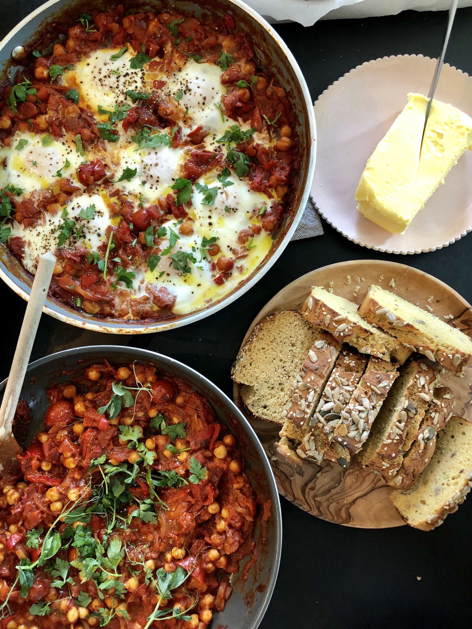 One Pan Chickpea Shakshuka