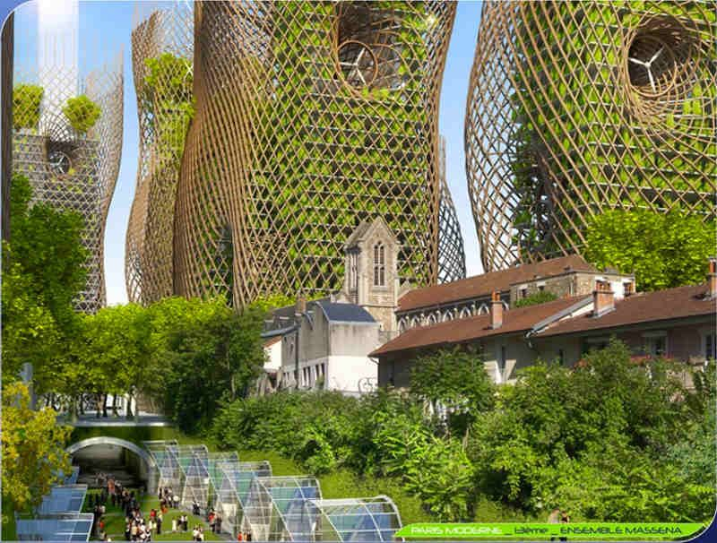 A Future Vision Of Paris The Year 2050 The Local Architektur