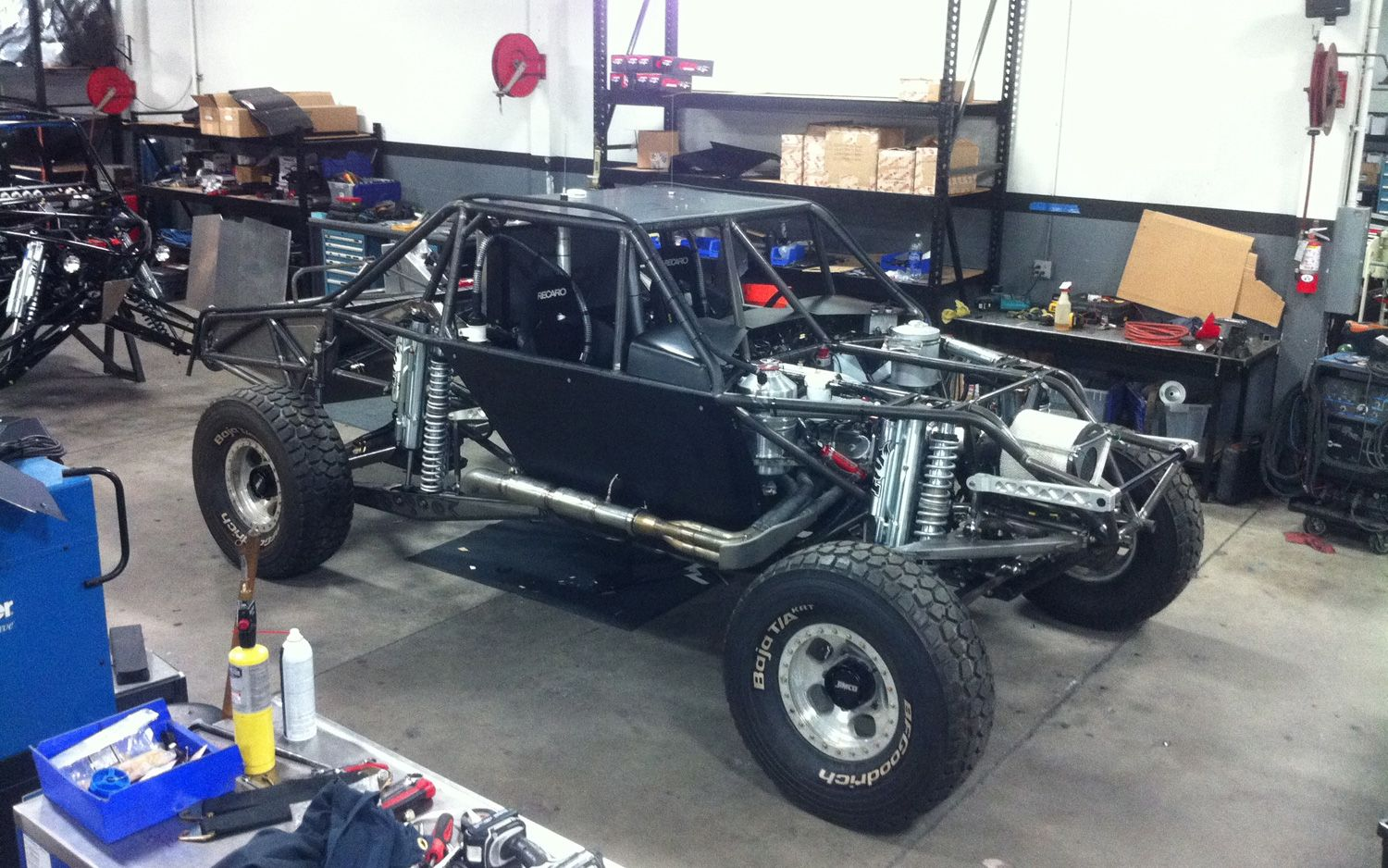 Trophy Truck Chassis - Norton Safe Trucks
