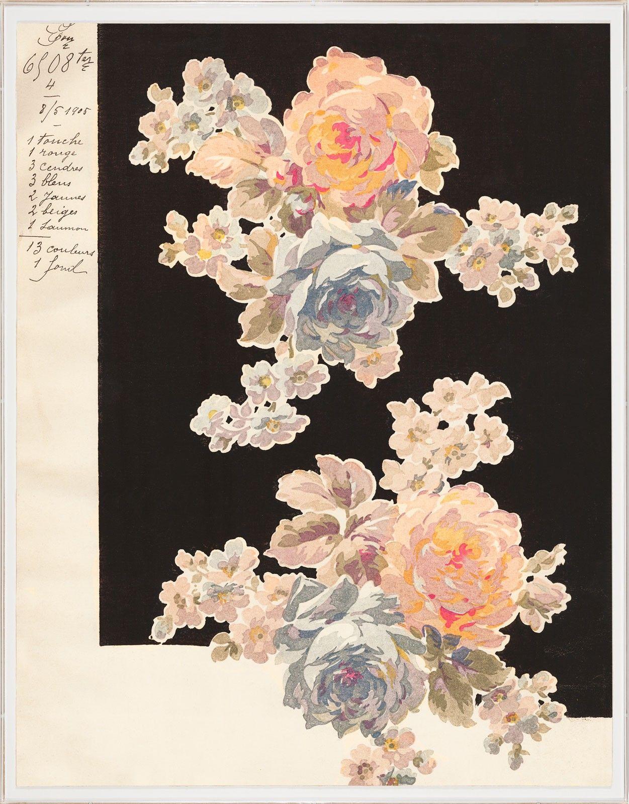 Pignier lille pattern pinterest florals patterns and prints