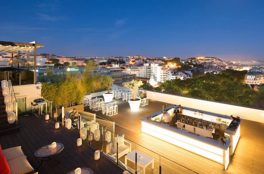 The Top 10 Best Rooftop Bars In Lisbon Best Rooftop Bars Tivoli Hotel Lisbon Restaurant