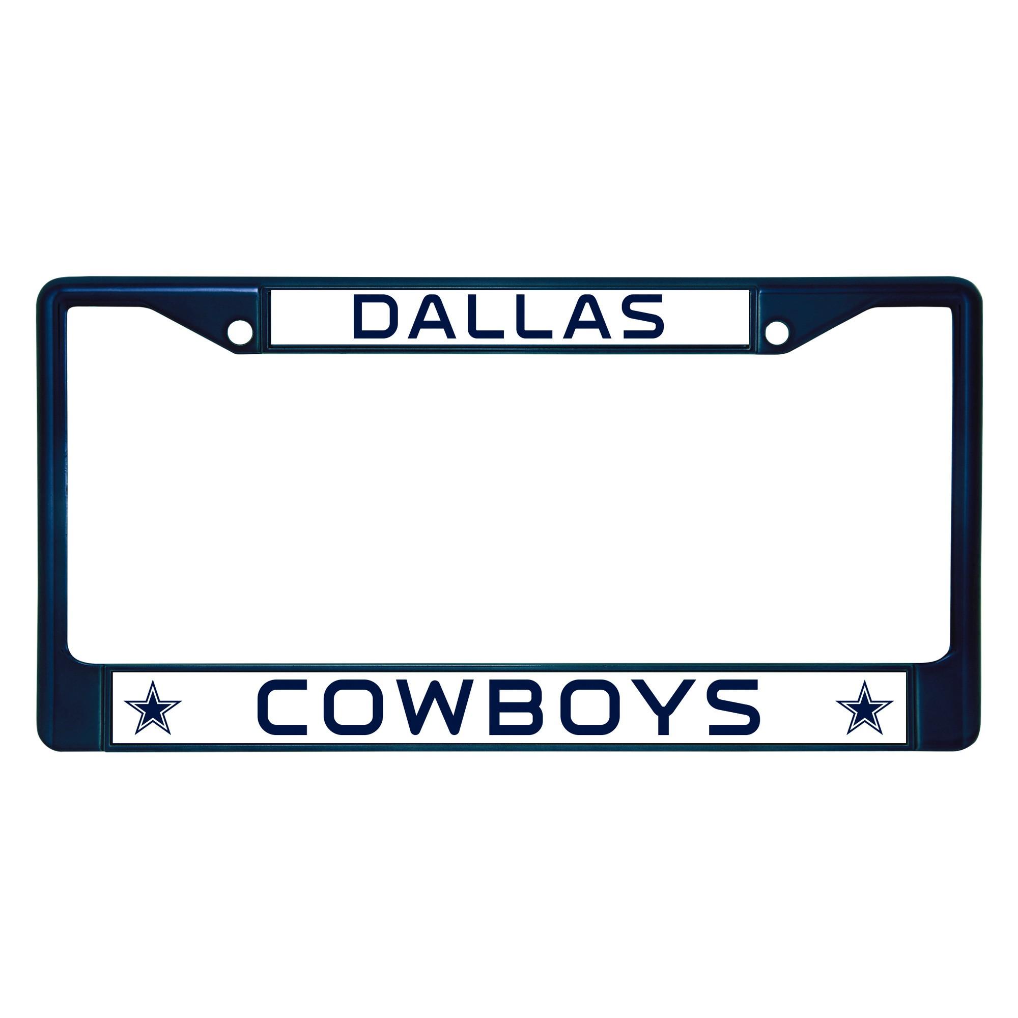 NFL Dallas Cowboys License Plate Frame   Dallas cowboys license ...