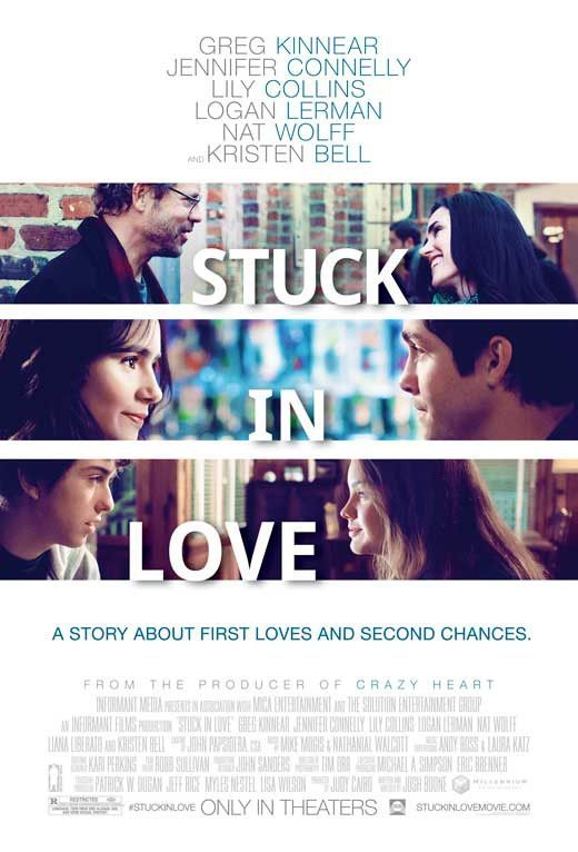 Stuck in Love 11x17 Movie Poster (2013)