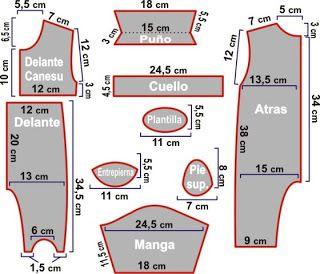 7769900cb Las chorradikas de Laury: Patrón pijama bebé de 9 a 12 meses ...