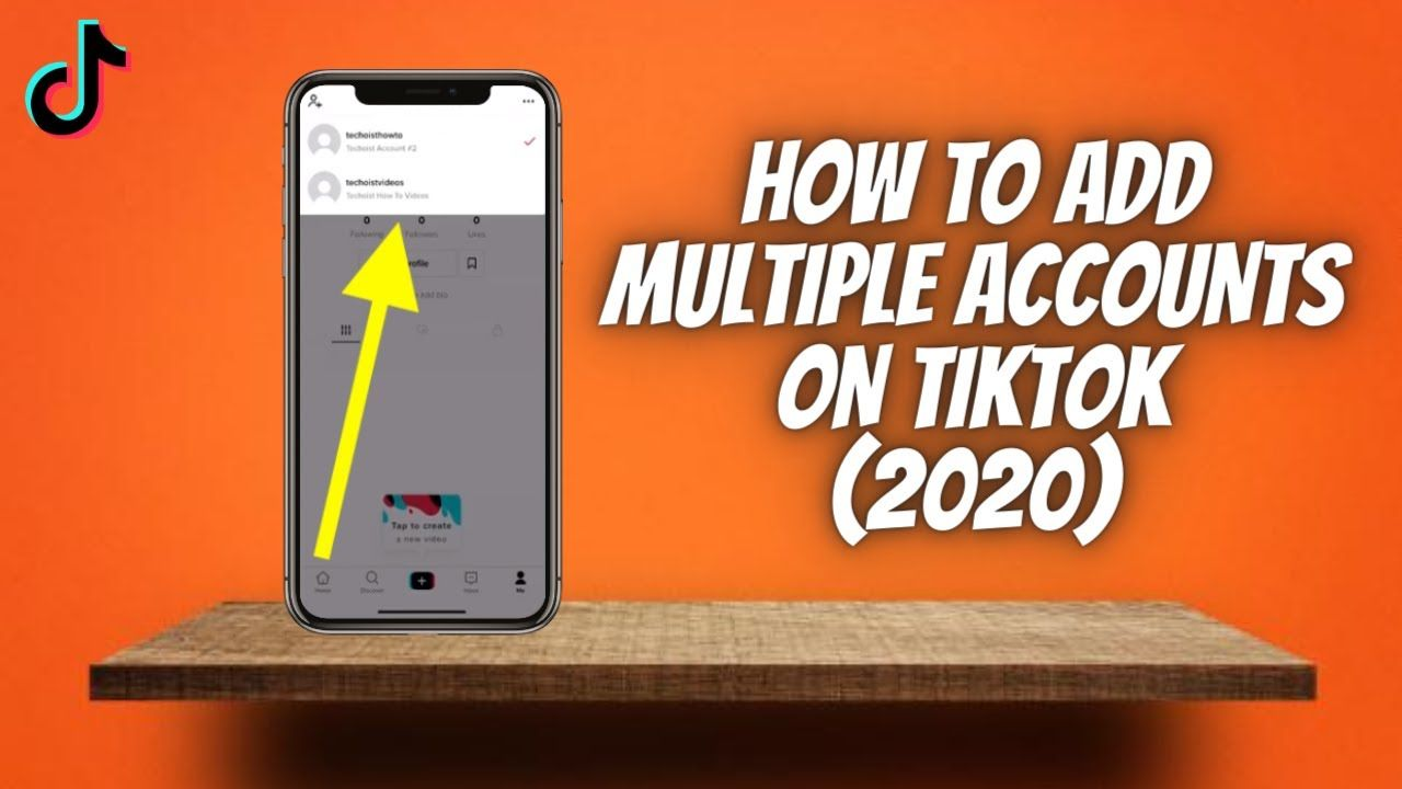 How To Add Multiple Accounts On Tiktok 2020 Make Another Tik Tok Ac Accounting Tik Tok Ads