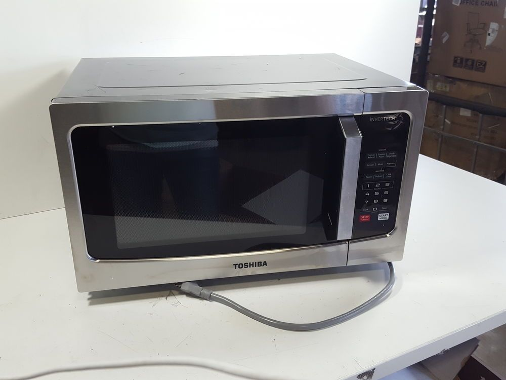 Panasonic Nn Sd945s Countertop Built In Microwave 1250w Stainless