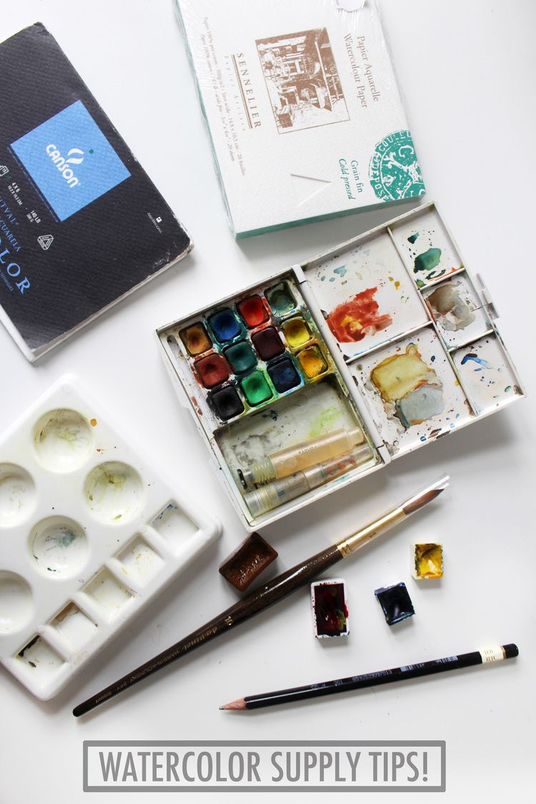 The Best Shopping Guide For Choosing Watercolor Supplies