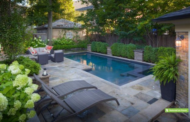 Century Home Wanted To Install Fiberglass Pool Cost Backyard Pool Small Inground Swimming Pools