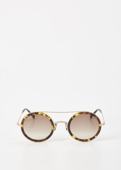 79498d281ff55 MATSUDA Tokyo Tortoise   Matte Gold Plate   Solid Brown Sun Collection    Sunglasses   Pinterest   Óculos, Incriveis e Acessórios