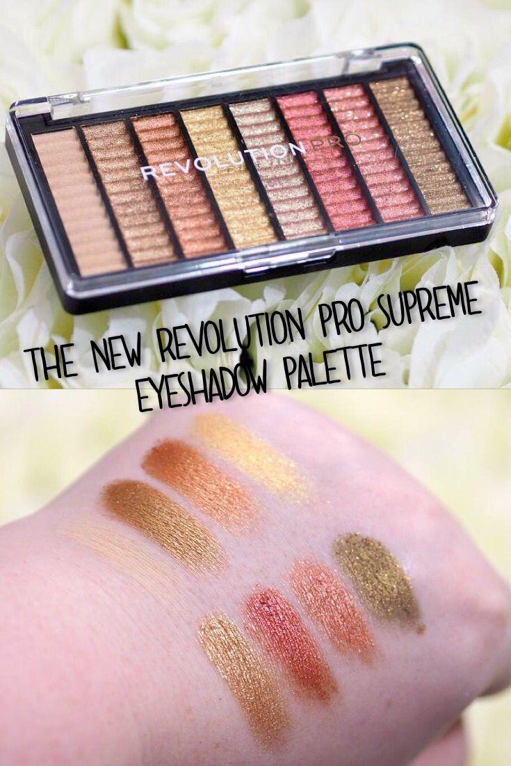 Revolution Pro Bewitch Supreme Eyeshadow Palette Swatches