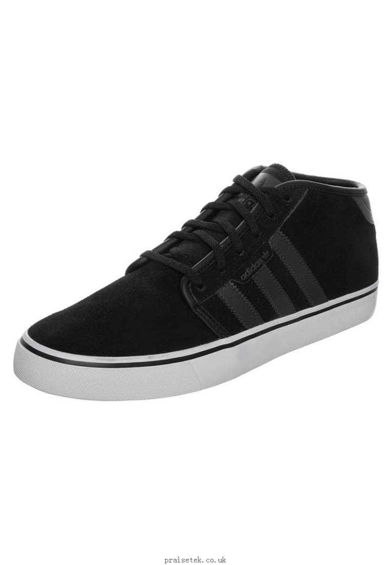 0e5d08cf98e adidas Originals SEELEY MID Trainers black AD112B06Z-Q11 Men s Shoes  43909050