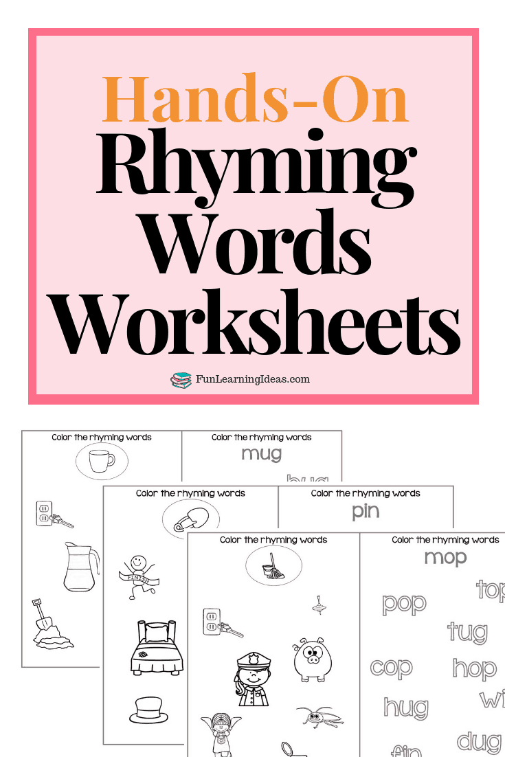Looking For A Few Free Rhyming Words Activities These Hands On Rhyming Words Worksheets Are A Rhyming Words Worksheets Rhyming Words Rhyming Words Activities [ 1102 x 735 Pixel ]