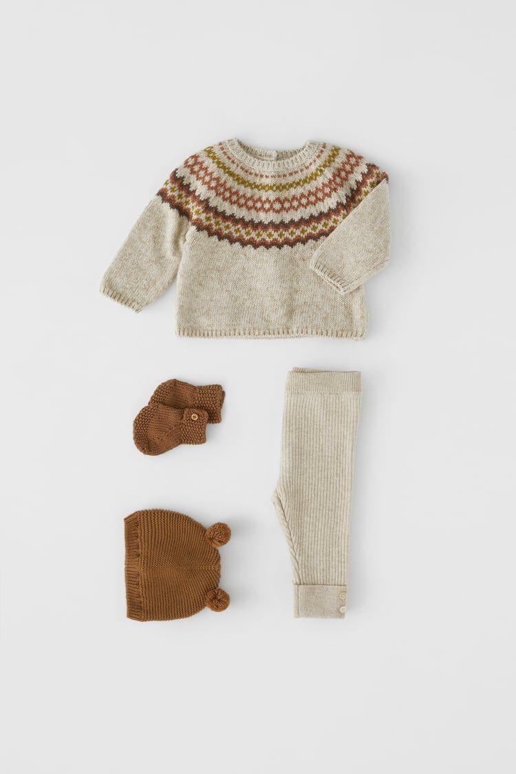 Zara lookbook Autumn fashion collection BABY Girls SWEATER//CARDIGAN Long Sleeves