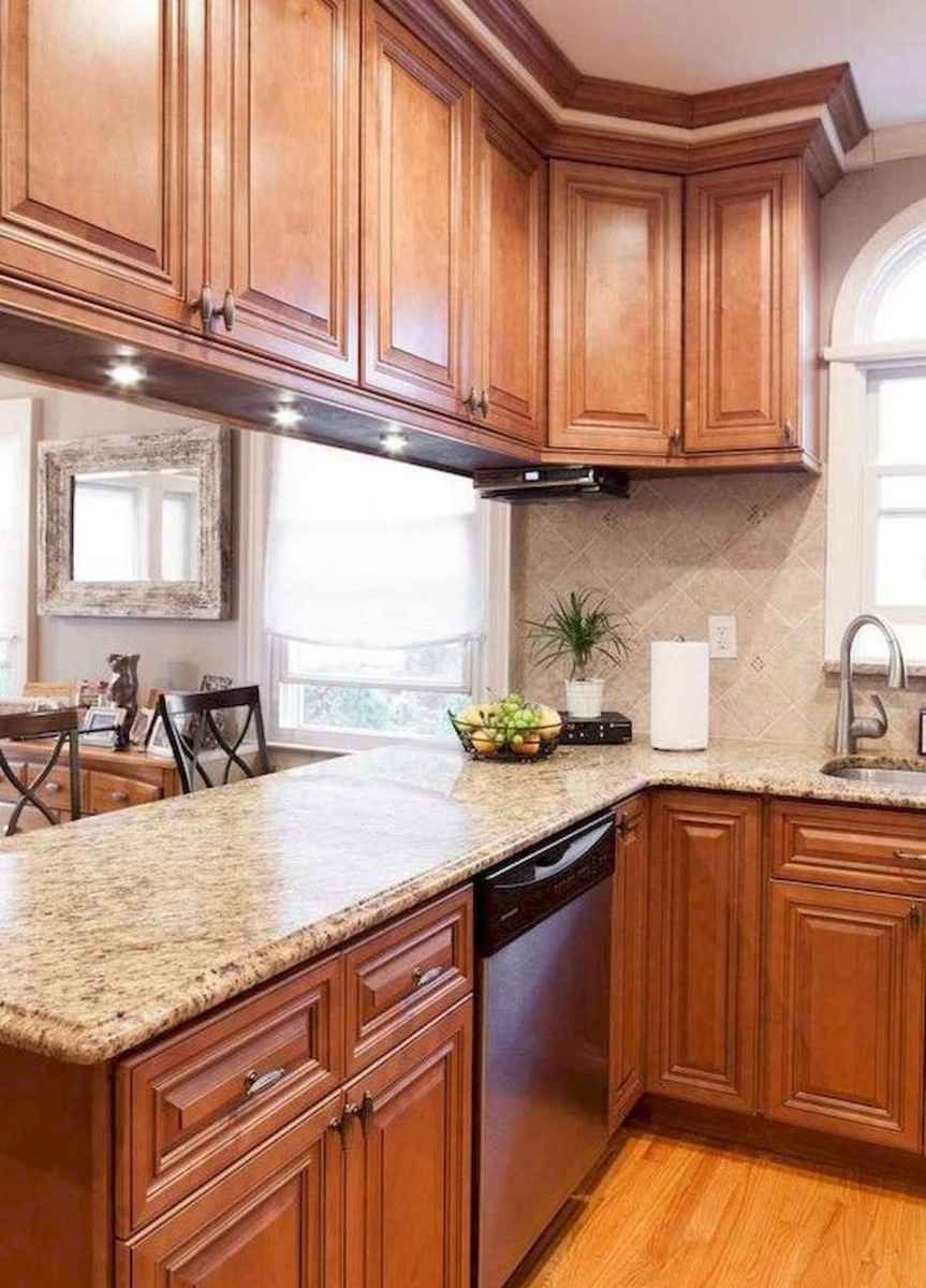 40 Awesome Craftsman Style Kitchen Design Ideas (26 ... on Countertop Colors For Maple Cabinets  id=56091