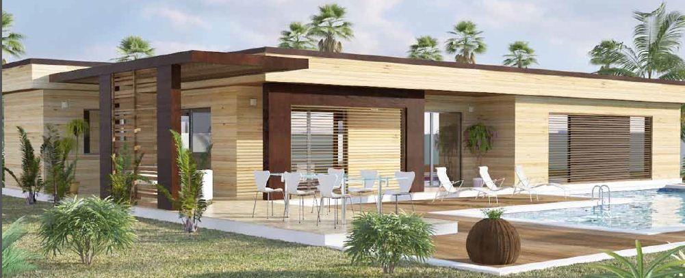Maison Moderne Toit Plat Toit-Terrasse Cubiques Cubes Carrees | Maisons Qualitis Construction de ...