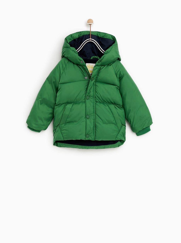 4eeb11062 SORONA® HOODED PUFFER JACKET-COATS-BABY BOY | 3 months - 4 years-KIDS |  ZARA United States