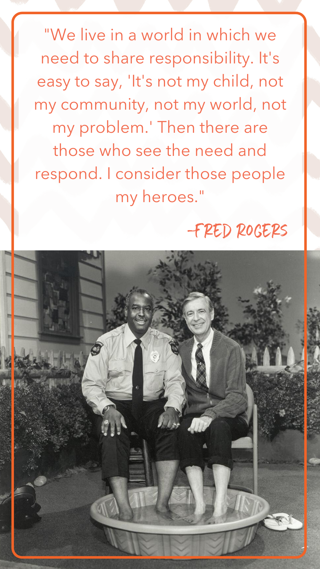 Mr. Rogers quote about inclusivity