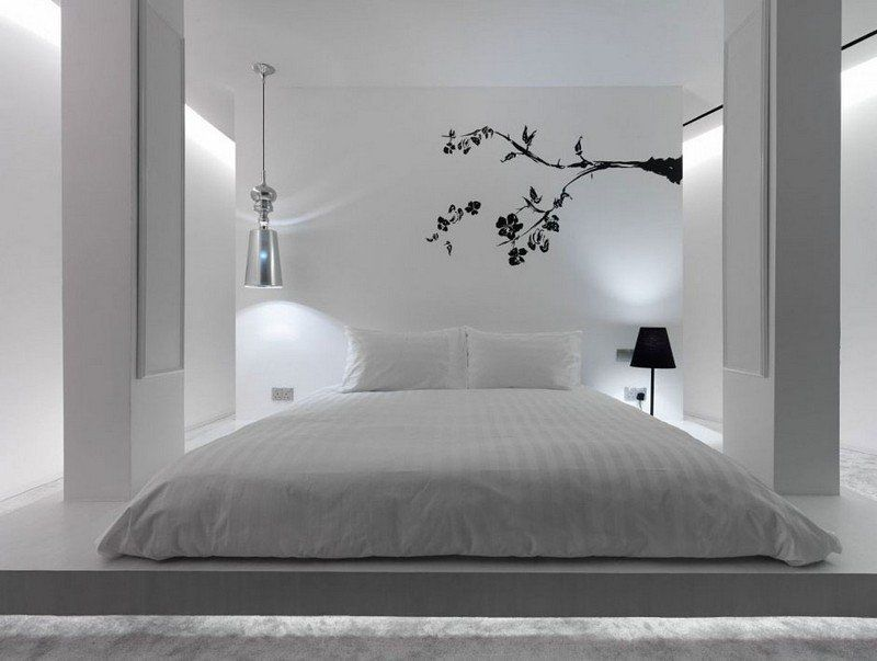 Chambre adulte blanche 80 idées pour votre aménagement Bedrooms
