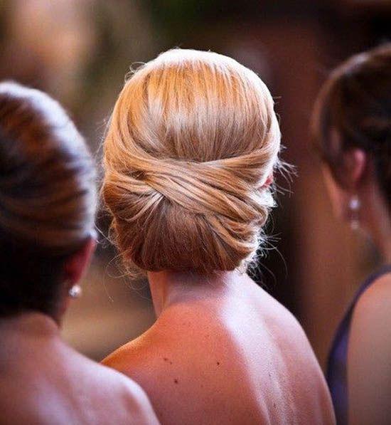 7 Dutt Braut Hochsteckfrisuren Schlicht Franzoesisch Elegant