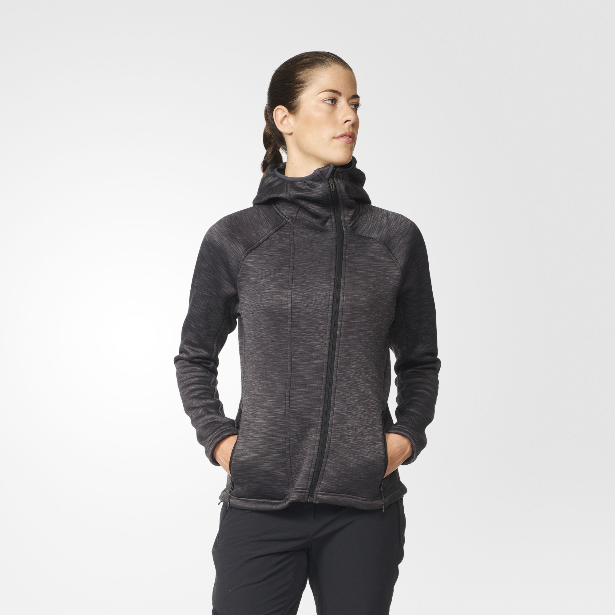 Predownload: Adidas Climaheat Hooded Fleece Jacket Women Hoodies Sweatshirts Hoodies Hoodies Womens [ 2000 x 2000 Pixel ]