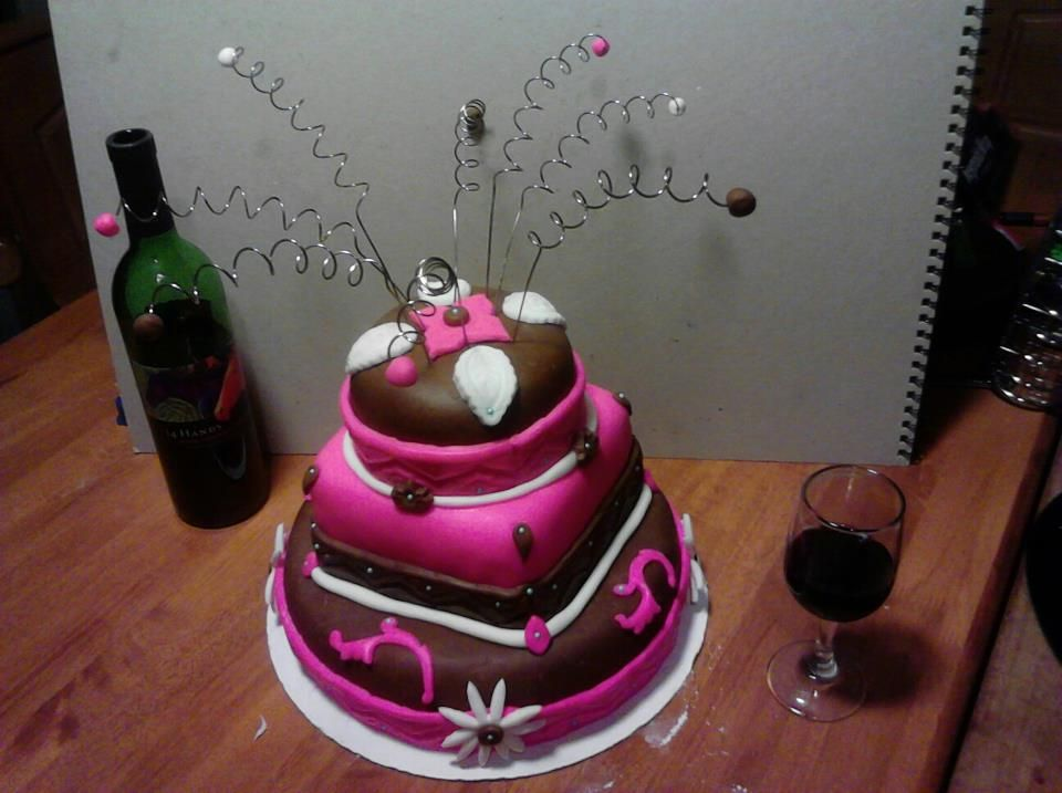 My 38th Birthday Cake Just Finished 3 Cake Birthday Cake