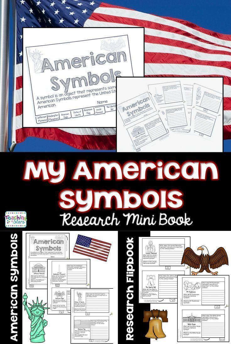 American Symbols Flip Book American Symbols Flip Books And Students