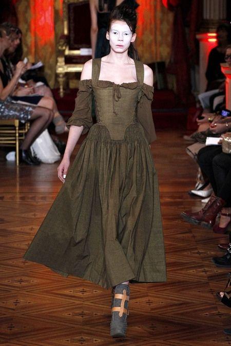 Vivienne westwood style corset dress