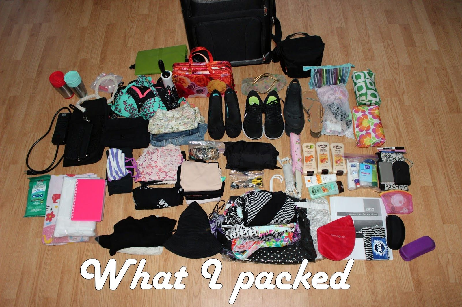 Luhivy's Favorite Things: Packing For A 7 Days Caribbean