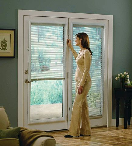 Enclosed Aluminum Blinds Alternatives To Enclosed Door Blinds You Can Install Yourself Aluminum Blinds Door Blinds Blinds For Windows