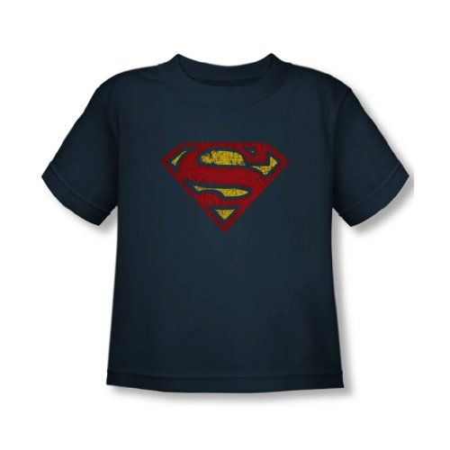 Superman Toddler Crackle S T Shirt In Navy Size 3t Color Navy Superman Dc Comics Trevco Http Www Amazon Com Dp B00cb Shirts T Shirt Superman Birthday