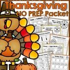 This November NO PREP Packet is filled with hands-on, engaging and FUN resources that get kids excited about learning!  The activities in this pack...