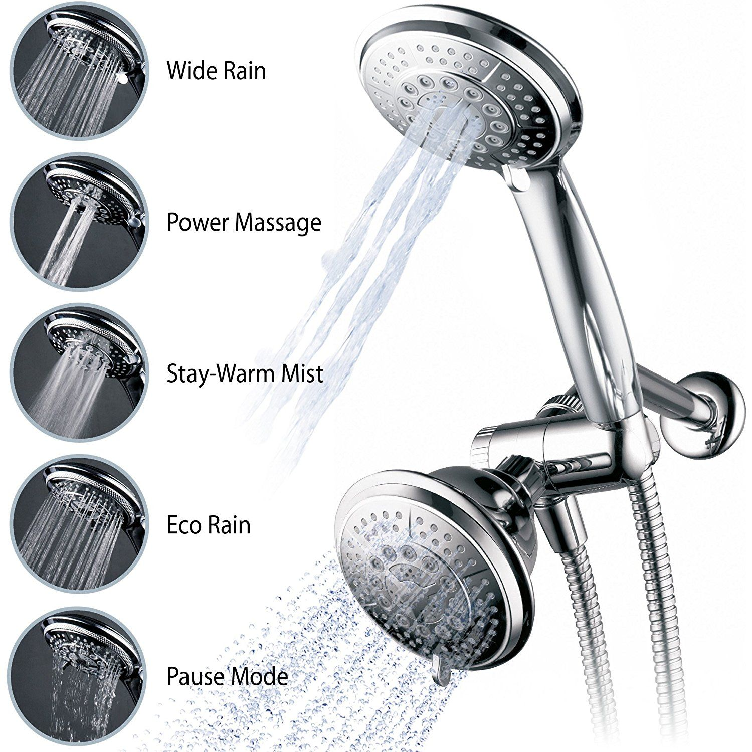 Function Adjustable Luxury Shower Head