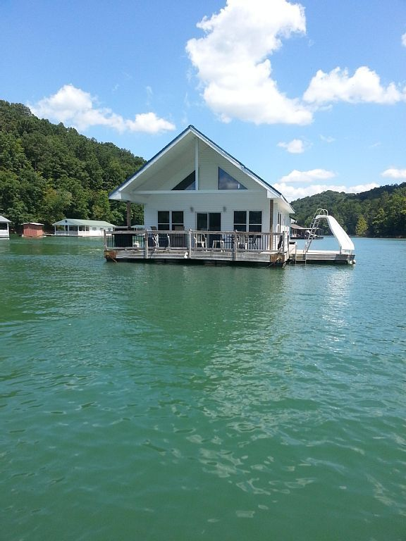 Brilliant House Boat Vacation Rental In Whitman Hollow Marina La Interior Design Ideas Greaswefileorg