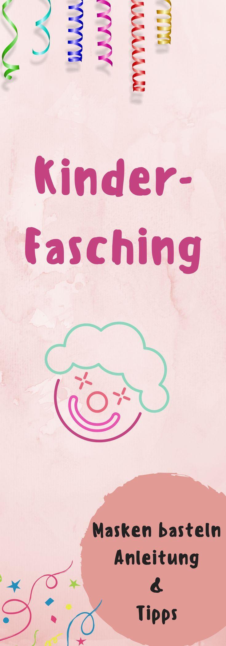 Faschingsmasken basteln aus Pappmaché - Ein Mamablog für Familien / alles rund ums Baby und Kind