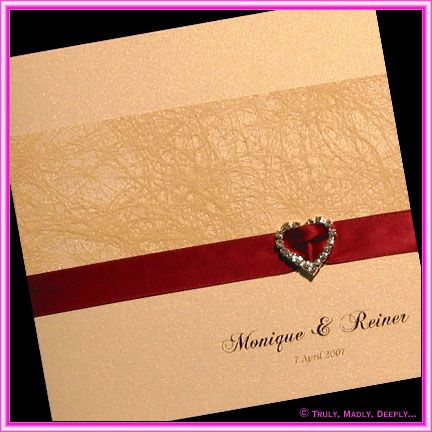 Champagne And Burgundy Wedding Invitations... Wedding Ideas For Brides,  Grooms, Parents