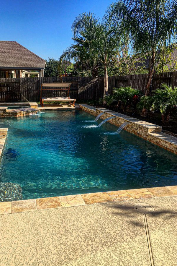 46+ Wonderful backyard pool ideas for you and your family Part 17