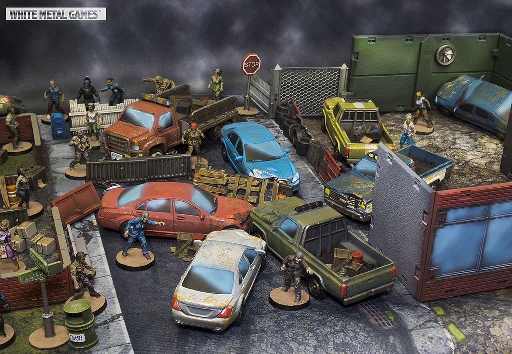 Walking Dead All Out War Scenery Booster 28mm scenery.