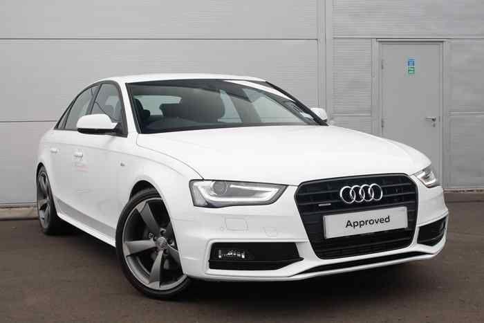 Ibis White Audi A4 Saloon Used Audi Audi Audi Dealership