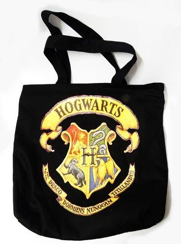 Bolsa com o brasão de Hogwarts