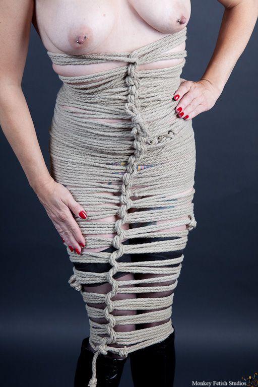 rope corset bondage
