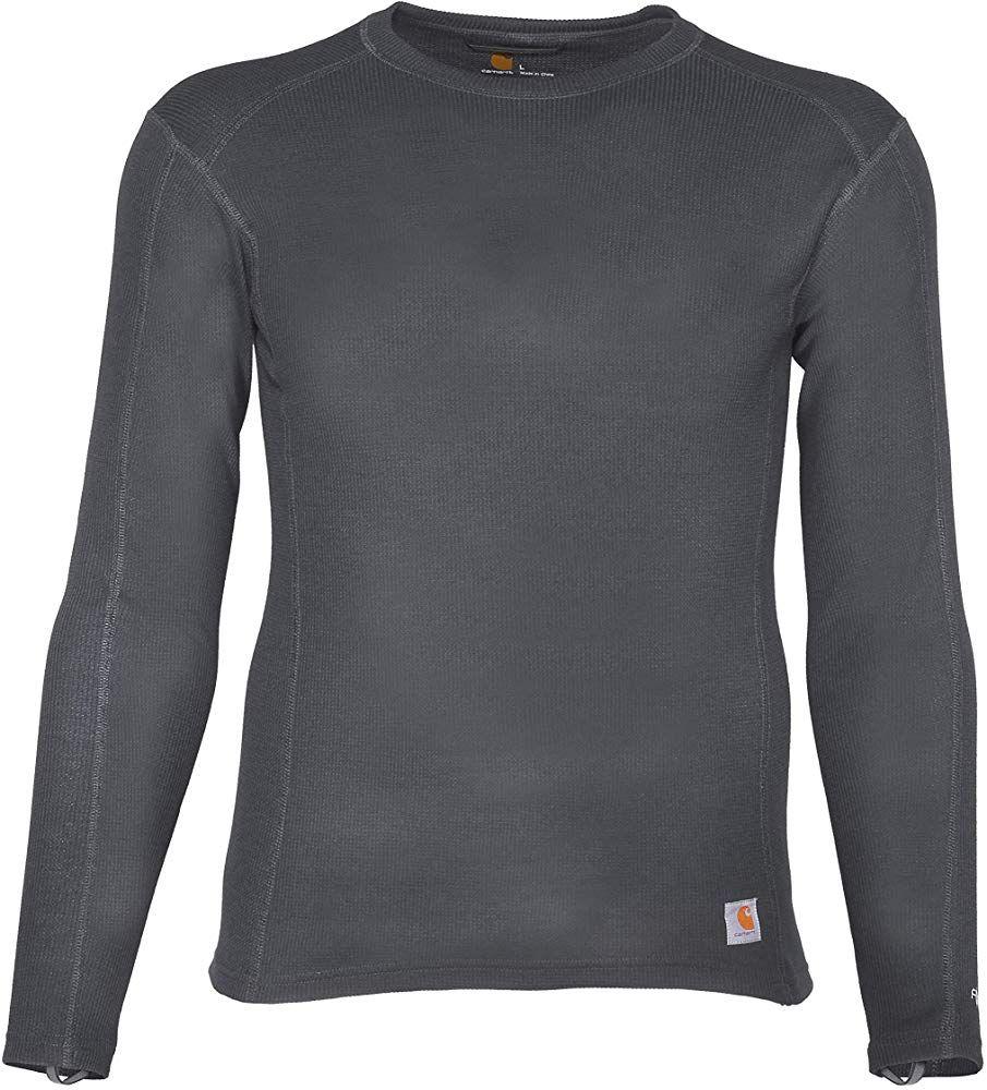 Carhartt Men S Force Midweight Classic Thermal Base Layer Long Sleeve Shirt Shadow Medium At Amazon Men S Long Sleeve Shirts Carhartt Mens Thermal Base Layer [ 1000 x 905 Pixel ]