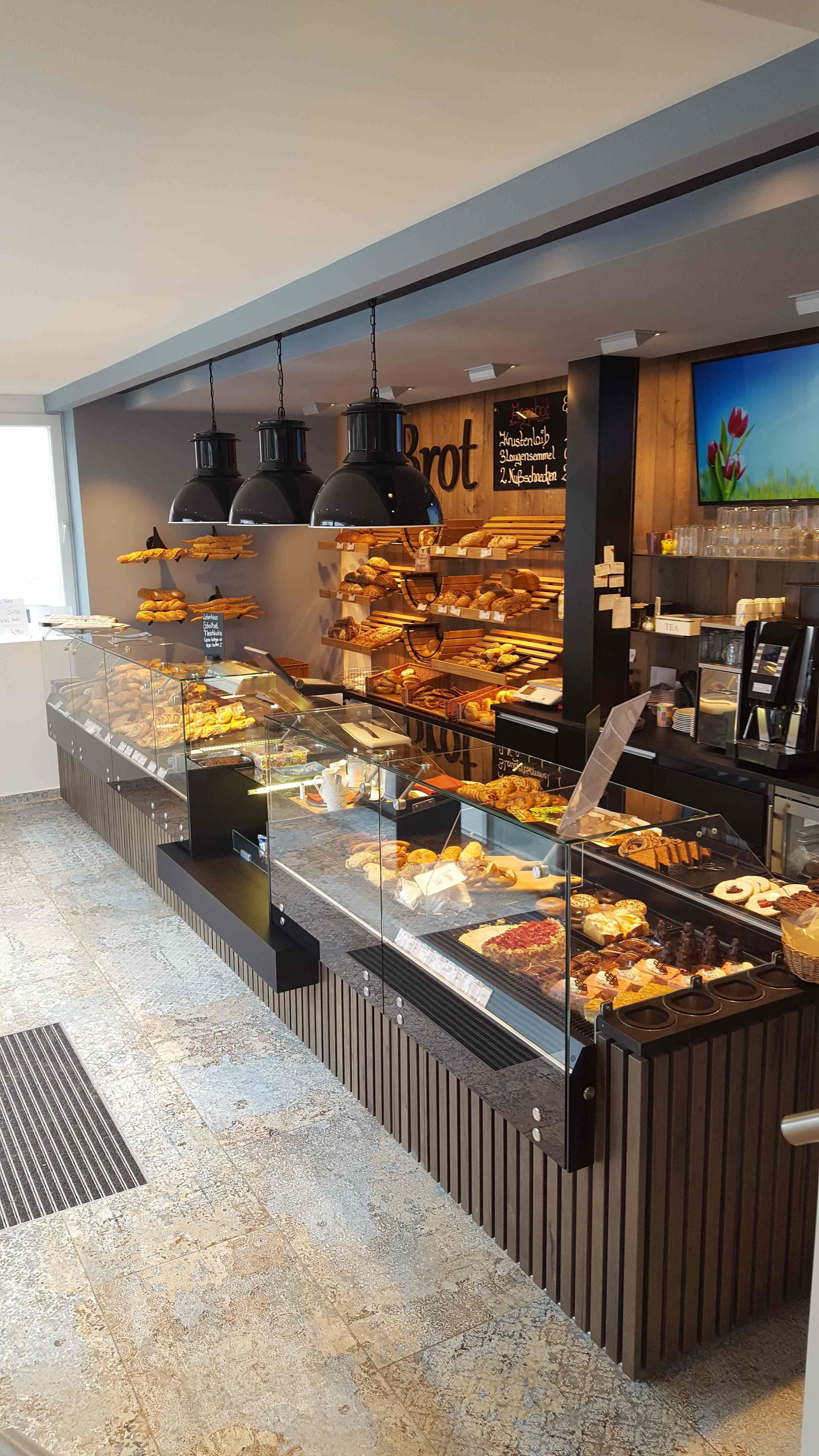 Open Coffee Bar Shelves