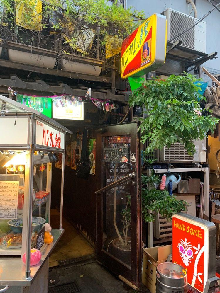 タイの屋台のような おもしろタイ料理屋さん ハンサム食堂 西
